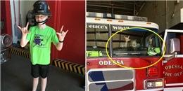 Xúc động trước bữa ăn mà cậu bé tự kỉ mua cho những người lính cứu hỏa