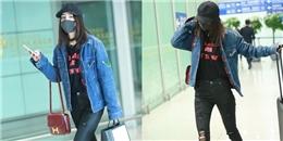 yan.vn - tin sao, ngôi sao - Dương Mịch khẩu trang kín mít tại sân bay hậu scandal chồng ngoại tình