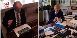 Tổng thống Mỹ Donald Trump 'mù' công nghệ, không biết dùng máy tính