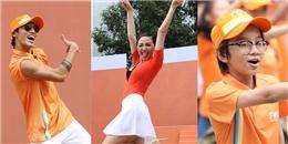 yan.vn - tin sao, ngôi sao - Tóc tiên gây chú ý với màn flashmob ngập sắc cam