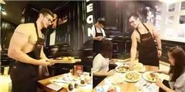 'Xịt máu mũi' với dàn nhân viên nhà hàng chỉ toàn trai đẹp... không áo