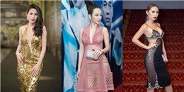 Những chiếc váy xẻ khiến người xem 'đỏ mặt' của mỹ nhân Việt