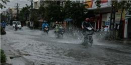 Áp thấp nhiệt đới mạnh lên, các tỉnh Nam Trung Bộ có nguy cơ ngập lụt