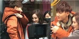 yan.vn - tin sao, ngôi sao - Sau scandal, Dương Mịch tình cảm bên Hoàng Tử Thao trên phim trường