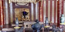 Truy tìm người đàn ông bí ẩn trên ngai vàng tại Hoàng thành Huế