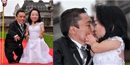 Xúc động với cặp đôi 'tí hon' được ghi danh tại Kỷ lục Guinness