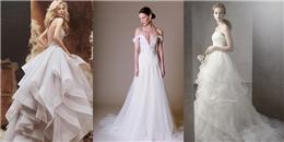 Những bộ váy cưới 'đẹp rụng rời' xem xong chỉ muốn kết hôn ngay