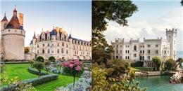 Mãn nhãn với những tòa lâu đài bước ra từ thế giới cổ tích