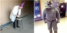 Thích thú với những trang phục đi dạy 'bá đạo' của các thầy cô giáo