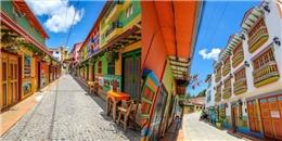 Bức tranh toàn cảnh của thị trấn 'lòe loẹt' nhất thế giới