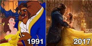 Người đẹp và Quái vật 2017  có gì khác với phiên bản gốc 1991