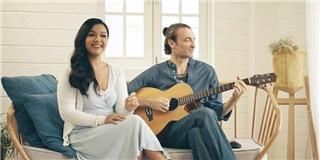 """Phương Vy cùng chồng song ca """"Nói lời yêu thương"""" cực ngọt"""