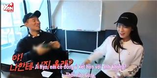Vừa trở về Running Man, Gary đã cầu hôn Song Ji Hyo