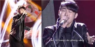 Giọng hát phi giới tính hạ gục trái tim khán giả và giám khảo từ câu hát đầu tiên