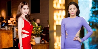 Váy cut-out: Ngọc Trinh, Kỳ Duyên và những sắc thái đối lập