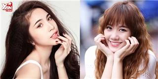 Sự thay đổi nhan sắc của Thủy Tiên và Hari Won sau 10 năm