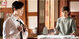 Chỉ là ảnh hậu trường, Lee Jong Suk vẫn khiến fan ngây ngất vì quá đẹp