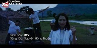 Võ Cảnh cùng dàn soái ca quân nhân trong MV nhạc phim mới