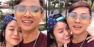 Hoài Lâm cùng bạn gái hot girl giao lưu trò chuyện cùng fan