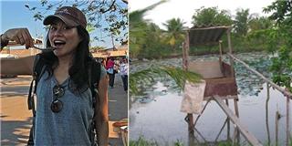 Blogger du lịch nước ngoài ấn tượng vì  cầu cá tra