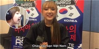 Độc quyền:  Thiên thần Thái Lan  gửi lời chào đến khán giả Việt Nam