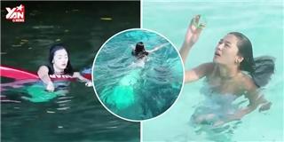 Thích thú với màn hóa thân nàng tiên cá trong  Huyền thoại biển xanh