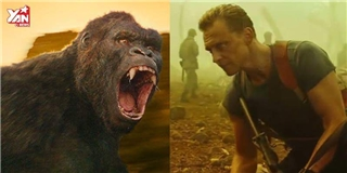 King Kong mới toanh trong bom tấn Kong: Skull Island