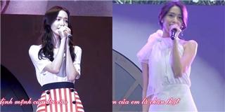 Yoona chứng tỏ khả năng ca hát  không phải dạng vừa  của mình