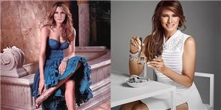 Con đường từ người mẫu thành bà chủ Nhà Trắng của Melania Trump