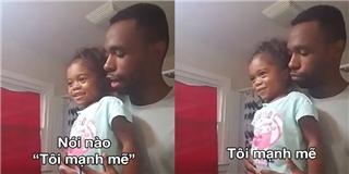 Cả thế giới thán phục trước cách dạy con gái của ông bố này