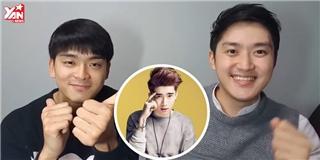 Trai Hàn cover  Điều anh biết  phiên bản rap tiếng Hàn cực hay
