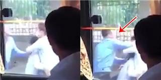 Người phụ nữ có con nhỏ bị tài xế hành hung gây phẫn nộ