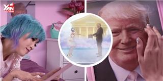 Đỡ không nổi với cô gái Nhật Bản làm  fan cuồng  Donald Trump