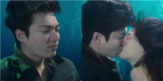Lee Min Ho và Jeon Ji Hyun mới tập 2 đã có nụ hôn đại dương ướt át