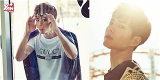 Park Bo Gum đẹp trai tỏa nắng trong ảnh tạp chí mới nhất