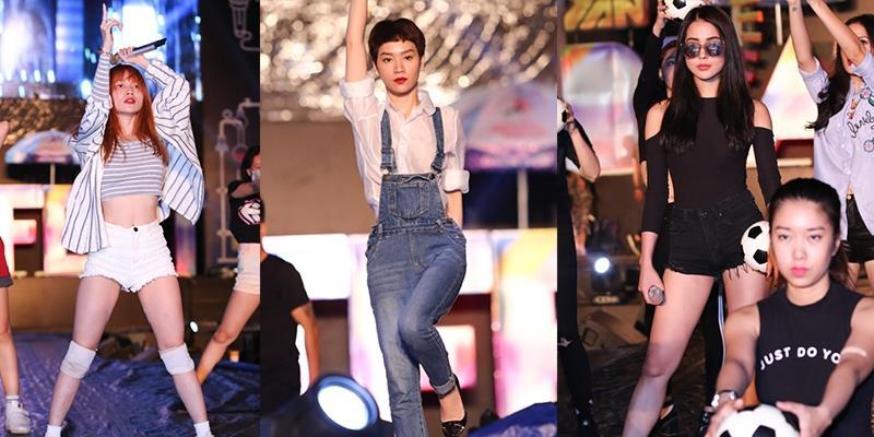yan.vn - tin sao, ngôi sao - Sĩ Thanh, Trà My Idol, Diệp Lâm Anh khoe vũ đạo nóng bỏng trước giờ G