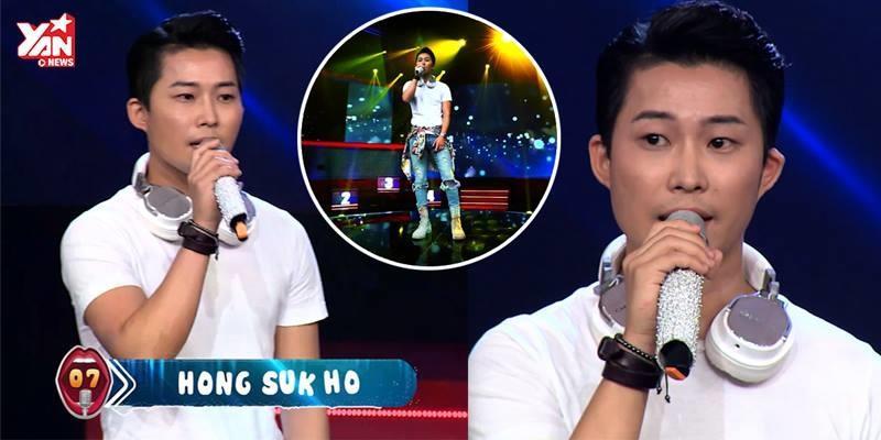 """Anh chàng Hàn Quốc khiến khán giả ngẩn ngơ khi hát hit """"Sau tất cả"""""""
