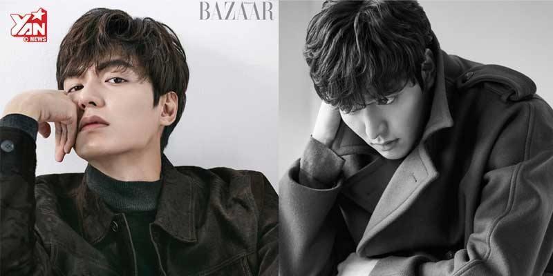 Lee Min Ho sau giảm cân, phong độ ngời ngời trên tạp chí