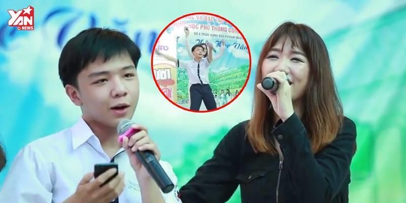 """Đã tìm ra người phá hit """"Yêu không hối hận"""" của Hari Won"""
