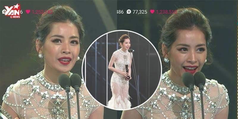 Chi Pu xinh đẹp, tự tin nói tiếng Anh tại Asia Artist Awards 2016