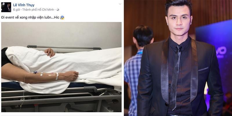 yan.vn - tin sao, ngôi sao - Siêu mẫu Vĩnh Thụy bất ngờ nhập viện lúc nửa đêm