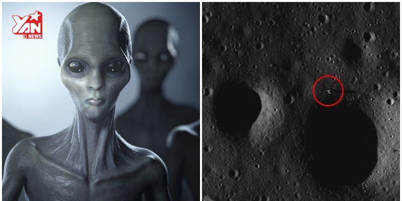 Vừa phát hiện người ngoài hành tinh trên Mặt Trăng?