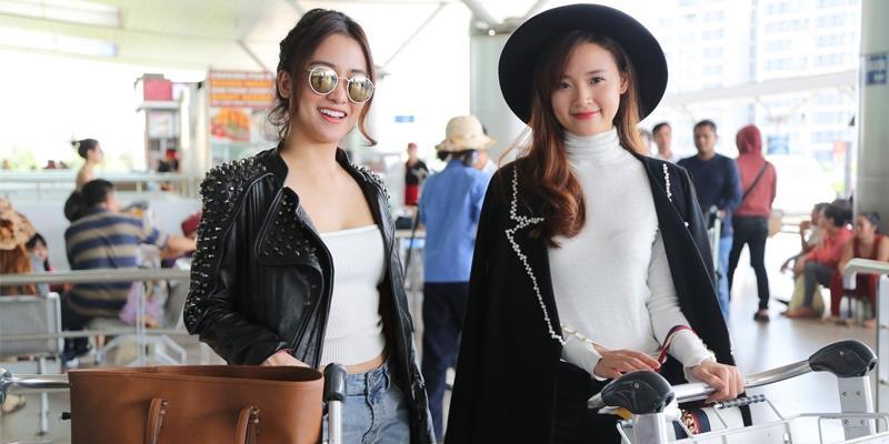 yan.vn - tin sao, ngôi sao - Midu háo hức cùng DJ Trang Moon vi vu sang Hàn dự lễ trao giải quốc tế