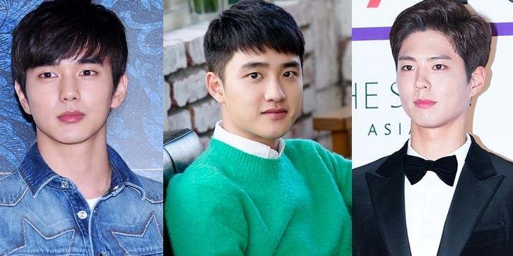 """yan.vn - tin sao, ngôi sao - D.O. thừa nhận là """"fan bự"""" của Park Bo Gum và Yoo Seung Ho"""