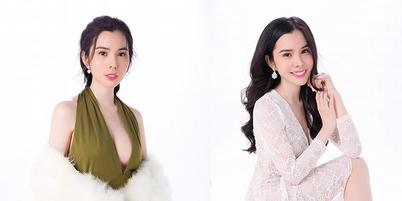 yan.vn - tin sao, ngôi sao - Á khôi Huỳnh Vy đẹp mong manh với váy xuyên thấu