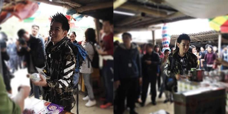 yan.vn - tin sao, ngôi sao - Dân tình phát sốt thấy ảnh Lâm Chí Dĩnh lần đầu xuất hiện tại Việt Nam