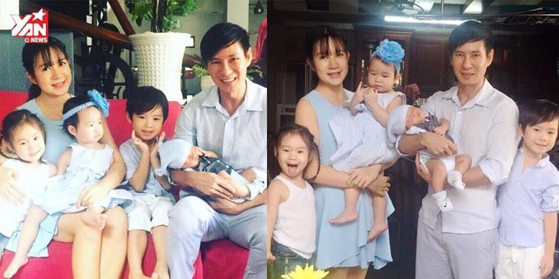 Những khoảnh khắc đáng yêu của gia đình Lý Hải Minh Hà