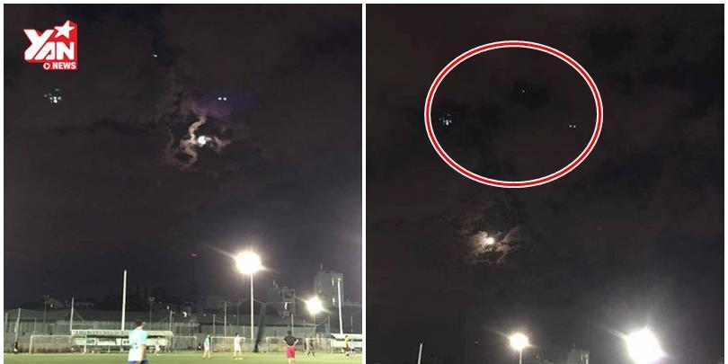 Xuất hiện 3 vật thể lạ trên bầu trời Sài Gòn
