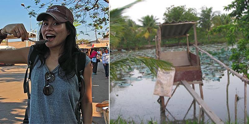 """Blogger du lịch nước ngoài ấn tượng vì """"cầu cá tra"""""""