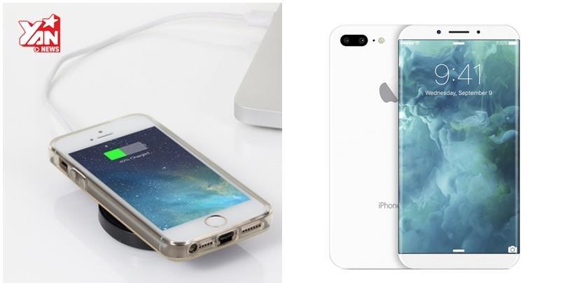 Khỏi lo vướng víu vì iPhone 8 sẽ có sạc không dây?